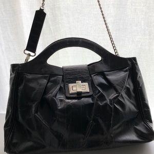 VINTAGE leather kooba bag